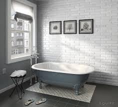 Avenir Bathroom Accessories by Carrara Metro 7 5x30 Caprice Black Decor City Colours 20x20