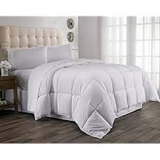 What Is The Difference Between A Coverlet And A Comforter Amazon Com Chezmoi Collection White Goose Down Alternative