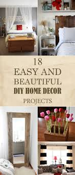 easy and beautiful diy home decor projects