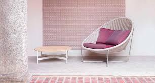 fauteuil en corde fauteuil contemporain en acier inoxydable en corde par
