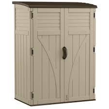 Home Depot Sand Box Suncast 2 Ft 8 In X 4 Ft 5 In X 6 Ft Large Vertical Storage