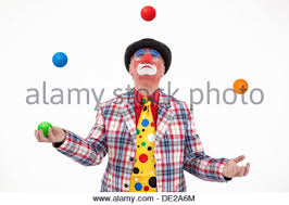 clowns juggling balls clown juggling balls stock photo 140354180 alamy