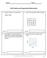 core assessments math 7th seventh grade ratios and