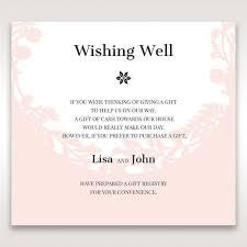 wedding gift registry wording gift list wording for wedding invitations paperinvite