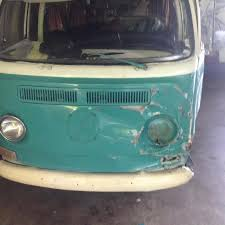 volkswagen van front view thesamba com bay window bus view topic front end collision