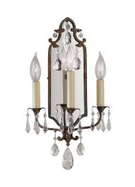 Murray Feiss Wall Sconce Wb1218brb 3 Light Sconce Bronze