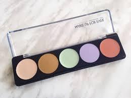 make up forever 5 camouflage cream palette aiishwarya