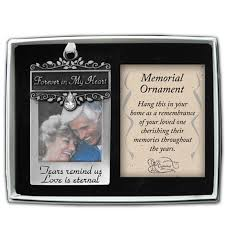 personalized remembrance ornaments forever in my heart memorial ornament