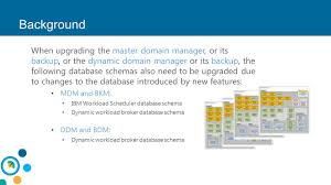 new mechanism to update the database schema for db2 and oracle
