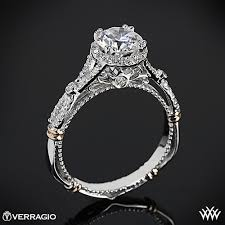 verragio wedding rings verragio twisted split shank engagement ring 2227