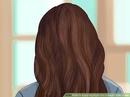 foil highlights for brown hair how to apply highlight and lowlight foils to hair with pictures