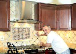 how to install tile backsplash kitchen how to install backsplash tile in kitchen clickcierge me