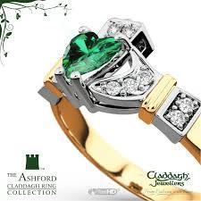 the claddagh ring ashford emerald claddagh ring 14 kt gold claddagh jewellers