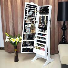 Jewelry Mirror Armoire Floor Mirror Jewelry Cabinet U2013 Amlvideo Com