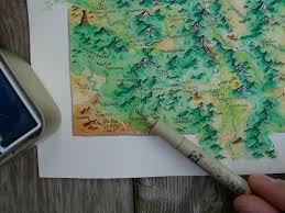 Watercolor Map Of The World by Watercolor Map Of Colorado W Details Album On Imgur