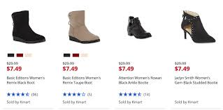 womens boots sears sears s boots 7 49 reg 29 99 living rich with coupons