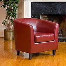 Club Chair Petaluma Oxblood Leather Club Chair Kitchen Dining