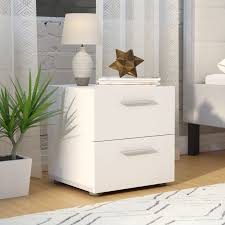 Small Nightstand With Drawers Nightstands U0026 Bedside Tables You U0027ll Love Wayfair