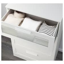 brimnes 4 drawer dresser white frosted glass ikea
