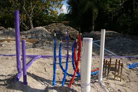 Plumbing Rough by Tin Box Red White Blue And Purple Plumbing P 4