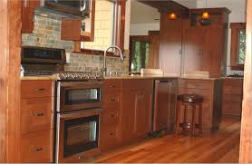 Kitchen Cabinet Stainless Steel Cabinets U0026 Drawer Farmhouse Galley Kitchen Brown Tall Cabinets
