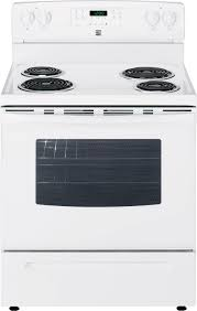 Kenmore Cooktop Replacement Glass Kenmore 94142 5 3 Cu Ft Electric Range W Self Cleaning Oven White