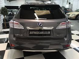 lexus hybrid suv for sale uk used lexus rx 450h 3 5 v6 advance 5dr cvt auto sunroof for sale