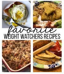 cuisine weight watchers favorite weight watchers recipes