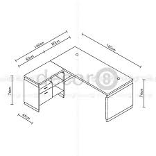 How To Measure L Shaped Desk How To Measure L Shaped Desk Bestar Pro Concept L Shaped Desk