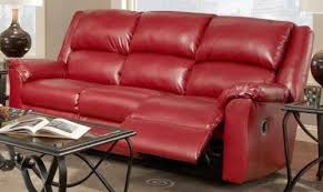Leather Recliner Sofa And Loveseat Magnificent Red Sofa Sleeper Top Seller Reclining And Recliner