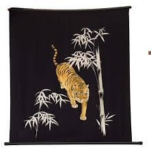 cloth furoshiki wall hanging