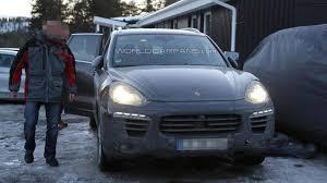 Porsche Cayenne Facelift - facelifted porsche cayenne caught on camera once again