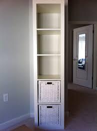 Narrow Bookcase Ikea by Very Skinny Bookshelf 2017 Bookshelf With Glass Doors