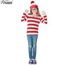 where s waldo costume where s waldo now white stripes costume kids where s