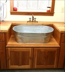 Laundry Room Sink With Jets by Kitchen Farmhouse Sink With Drainboard Vintage Utility Sink