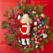 the of with santa claus decoration ideas