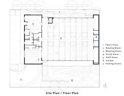 Floor Plan Of A Library by Gallery Of Kenmore Library Weinstein A U 16