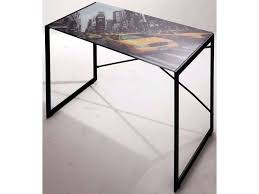bureau verre conforama petit bureau verre plateau york en conforama bim a co