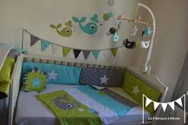 chambre turquoise et marron chambre bleu et taupe decoration canard deco bleue verte gris garcon