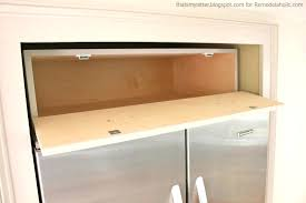 over refrigerator cabinet lowes over fridge cabinet brown rectangle classic wooden refrigerator