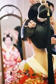 Geisha Hairstyles Geisha Beautiful Shapes In This Photograph Avantgarde Hair