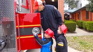 kids fire engine and fire station tour fire truck videos for