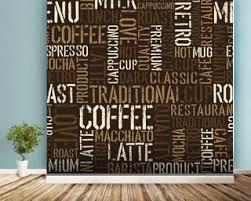 wallpaper coffee design food drink wallpaper wall murals wallsauce usa