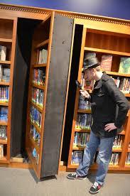 Revolving Bookshelf Secrets Of The Library Searchlight San Jose