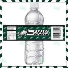 philadelphia eagles home decor sports invites philadelphia eagles football bottle labels