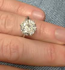 size 6 engagement ring 5 75ct not enhanced solitaire engagement ring 6