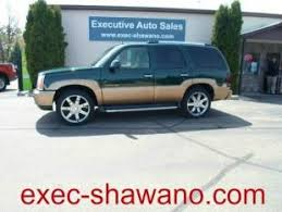 green cadillac escalade and used green cadillac escalades for sale in wisconsin wi