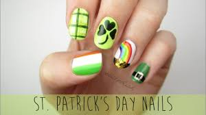 nail art for st patrick u0027s day a mini guide youtube