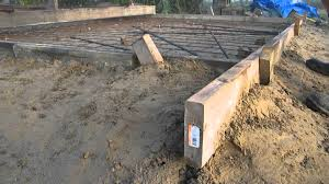 Paving Slabs For Patios by Part One Preparing The Forms For Concrete Youtube