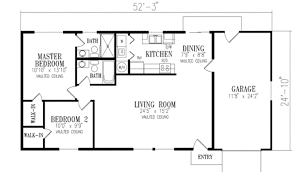 floor plans 1000 sq ft mediterranean style house plan 2 beds 2 00 baths 1000 sq ft plan
